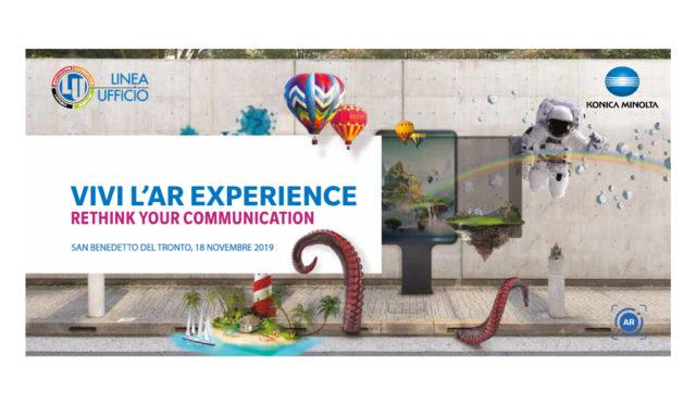 Ti invitiamo a vivere la AR Experience!