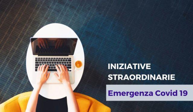 COVID 19 – Iniziative Straordinarie per i Clienti